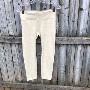 Outdoor Voices Pants - Outdoor Voices TechSweat EUC pale yellow legging M